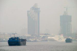 Effetto down da inquinamento