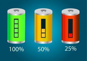 Samsung Galaxy S8 batteria